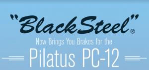 APS Black Steel Brake Kits for the Pilatus PC-12